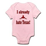 Cute Hate oklahoma Infant Bodysuit