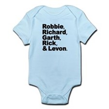 The Band Names Tribute Infant Bodysuit