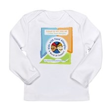 Funny Do not feed the Long Sleeve Infant T-Shirt