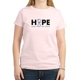 Lavender/Periwinkle Ribbon Hope T-Shirt