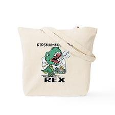 Personalizable T-Rex Tote Bag