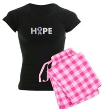 Lavender/Periwinkle Ribbon Hope Pajamas