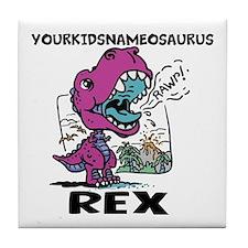 Little T Rex Tile Coaster