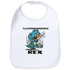 Personalize This T-Rex Bib