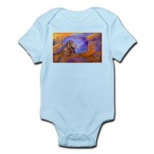 Lion! Wildlife art! Infant Bodysuit