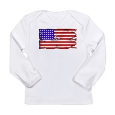 1864 US Flag Long Sleeve Infant T-Shirt