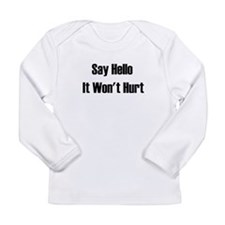 Say hello Long Sleeve Infant T-Shirt