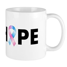 Pink & Blue Ribbon Hope Mug