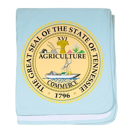 Tennessee State Seal baby blanket