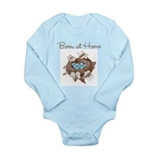 Unique Home birth Long Sleeve Infant Bodysuit
