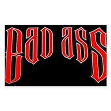 BAD ASS (Black) Decal