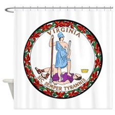 Virginia State Seal Shower Curtain