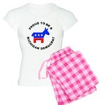 Michigan Democrat Pride Women's Light Pajamas