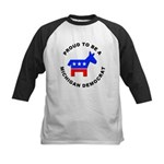 Michigan Democrat Pride Kids Baseball Jersey