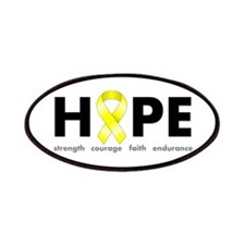 Yellow Ribbon Hope Patches