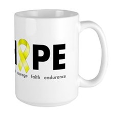 Yellow Ribbon Hope Mug