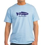 Cute Alaska fly fishing T-Shirt