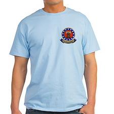 2-sided Navy Veteran Light T-Shirt