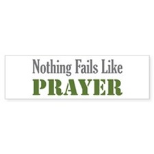 Nothing Fails Like Bumper Bumper Sticker