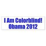 Pro-Obama Bumper Sticker