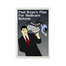 Paul Ryan and Medicare Reform 2012 Magnet