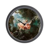 Jean-Honoré Fragonard The Swing Wall Clock
