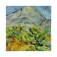 Cezanne Mont Sainte-Victoire Queen Duvet