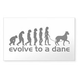 Evolve to a Great Dane Decal