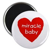 miracle baby 2.25&quot; Magnet (10 pack)