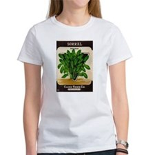 Antique Seed Packet Art Sorrel Tee