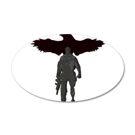 Rogue Corps/Gunsite 20x12 Oval Wall Decal