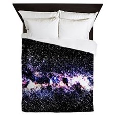Purple Galaxy Queen Duvet