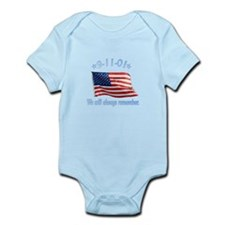 9/11 Tribute - Always Remember Infant Bodysuit