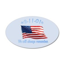 9/11 Tribute - Always Remember Wall Decal
