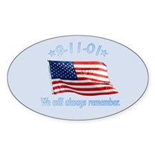 9/11 Tribute - Always Remember Decal