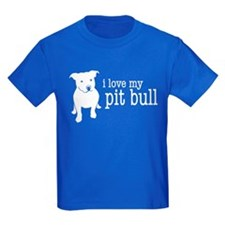 Cute I love american staffordshire terriers T
