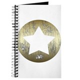 Distressed Vintage Star 3 Journal