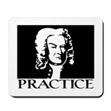 Bach - Practice Mousepad