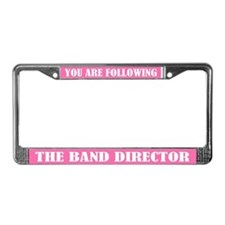 Following Band Director License Plate Frame