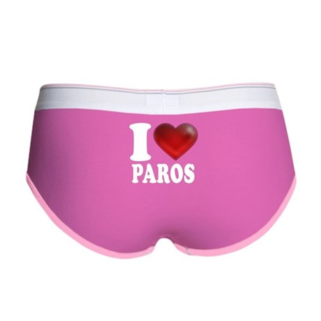 I Heart Paros Women's Boy Brief