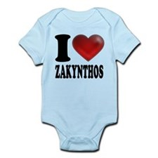 I Heart Zakynthos Infant Bodysuit