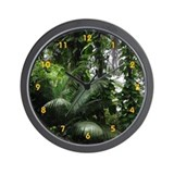 Tropical Rainforest - Wall Clock