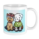 Yorkie and maltese Mug