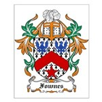 Fownes Coat of Arms Small Poster