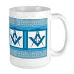Masonic old fashioned diner style Large Mug