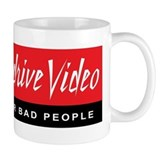 Max Overdrive Video logo Small Mugs