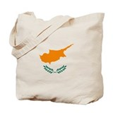Cyprus Flag Tote Bag