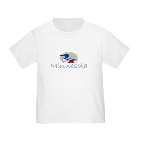 Proud Loon-Minnesota: Toddler T-Shirt