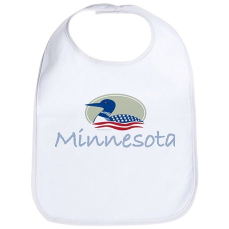Proud Loon-Minnesota: Bib