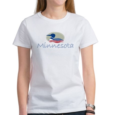 Proud Loon-Minnesota: Women's T-Shirt